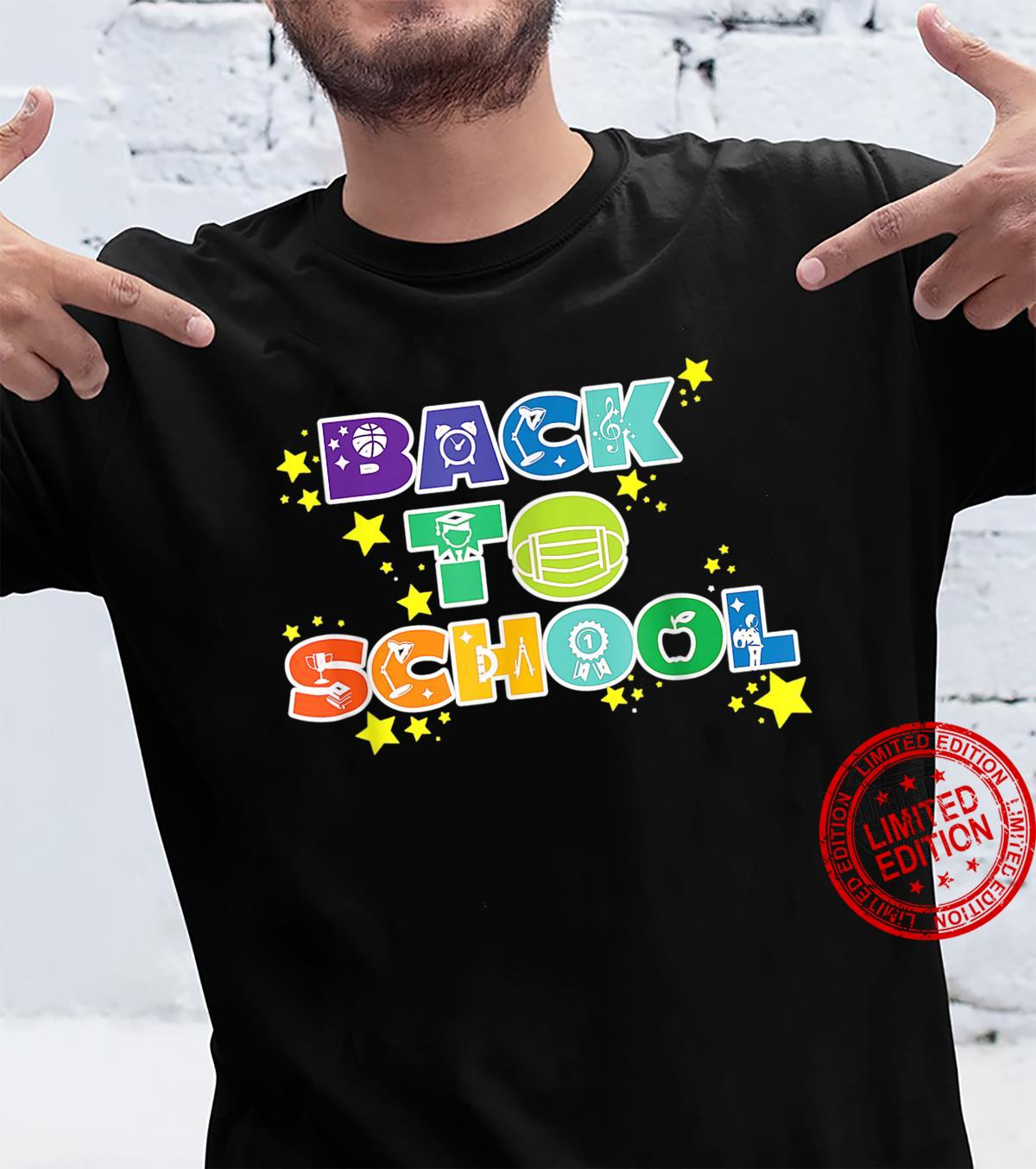Back to School, Teachers and Students Back to School Shirt