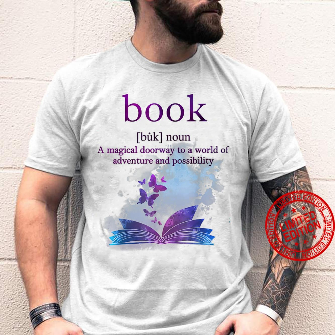 Book Definition A Magical Doorway To A World Of Adventure Shirt