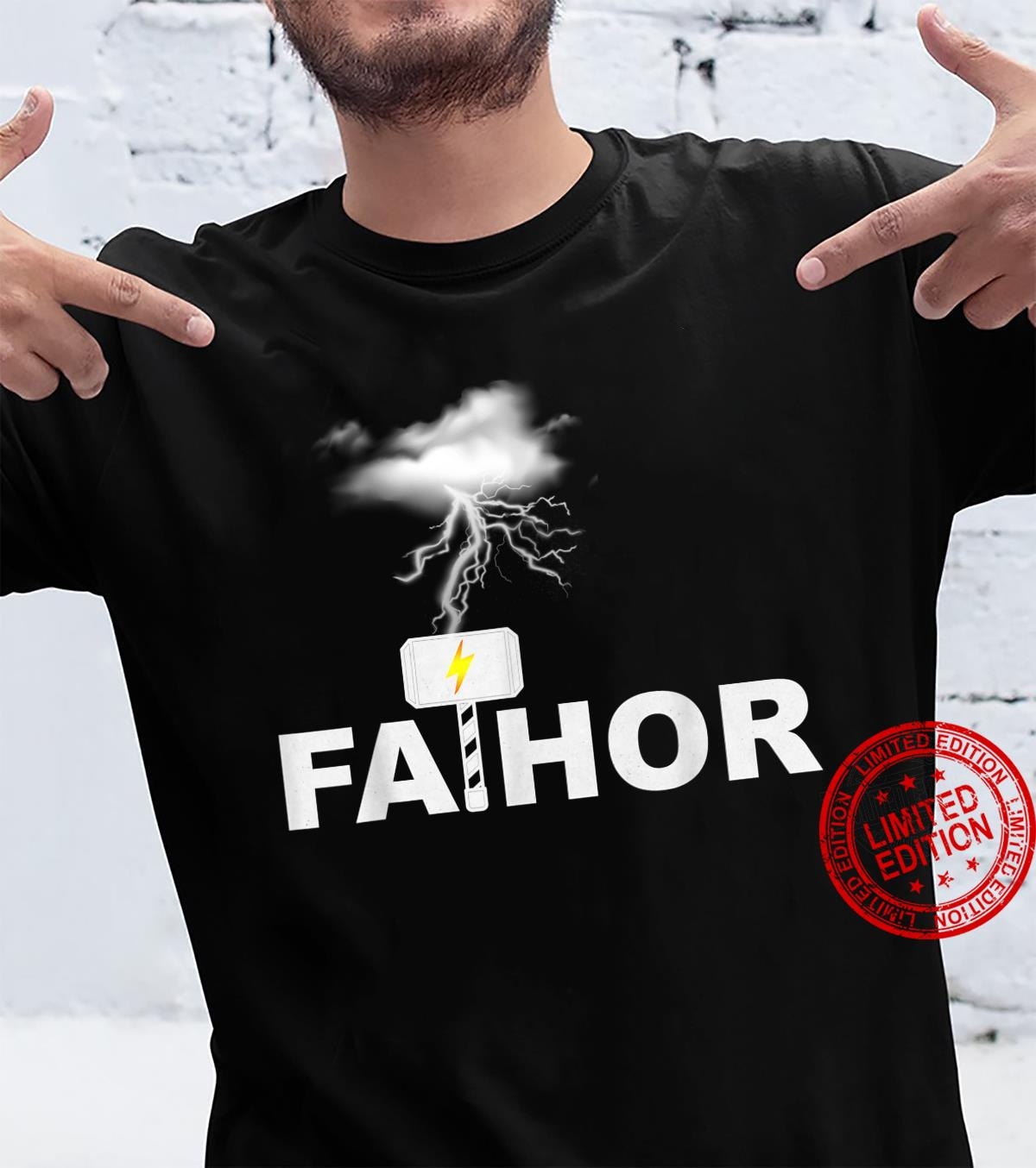 FATHOR Strong Hero And Lovely Dad For Father's Day Shirt