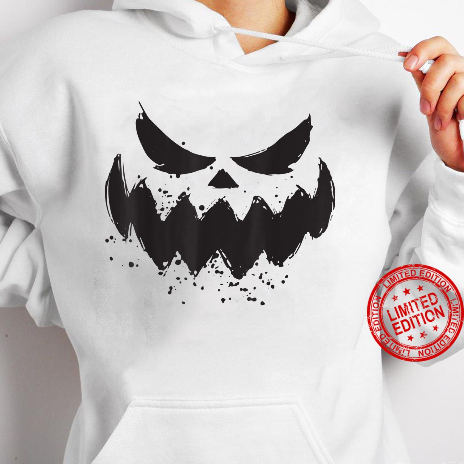 Halloween 2021 Horror Costume Pumpkin Scary Face Shirt hoodie