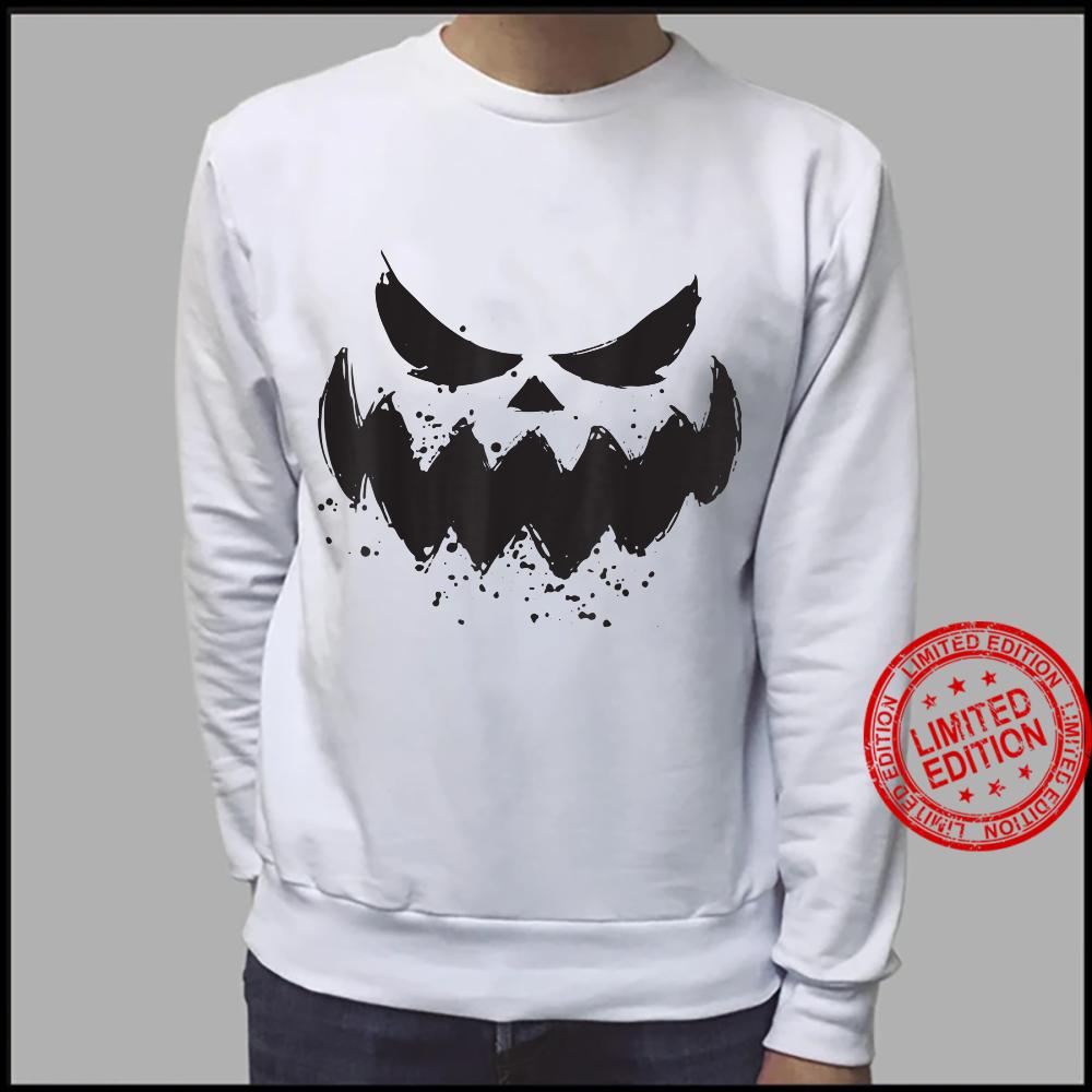 Halloween 2021 Horror Costume Pumpkin Scary Face Shirt sweater