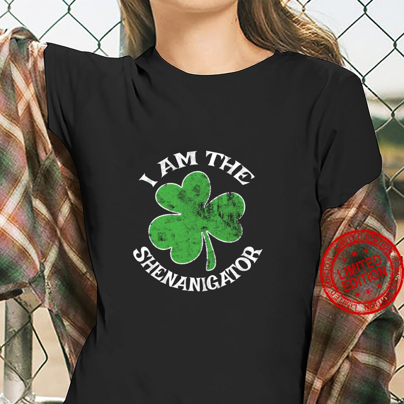 I Am The Shenanigator St. Patrick's Day Parade Party Shirt ladies tee