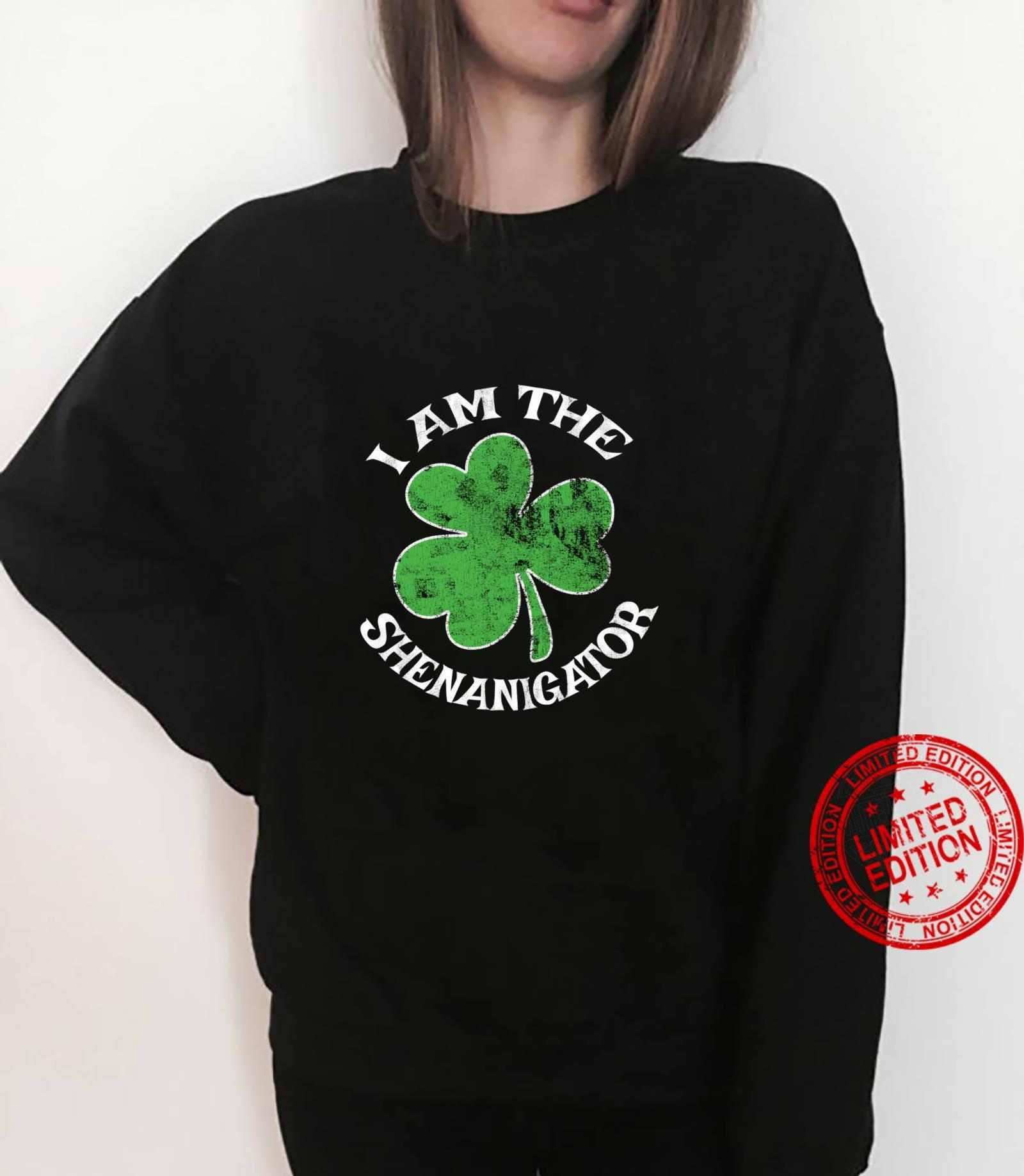 I Am The Shenanigator St. Patrick's Day Parade Party Shirt sweater
