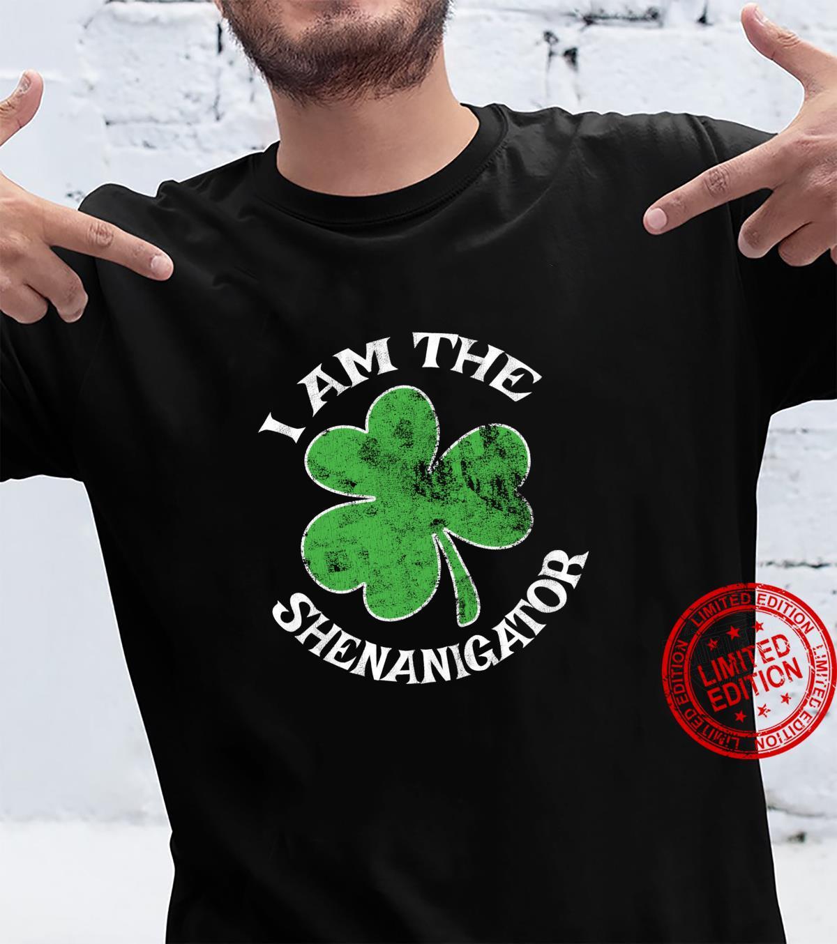 I Am The Shenanigator St. Patrick's Day Parade Party Shirt