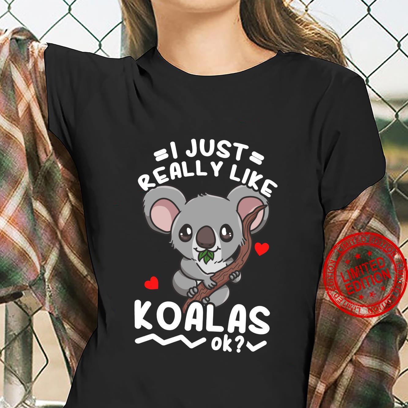 Koalas Koala Bear Shirt ladies tee