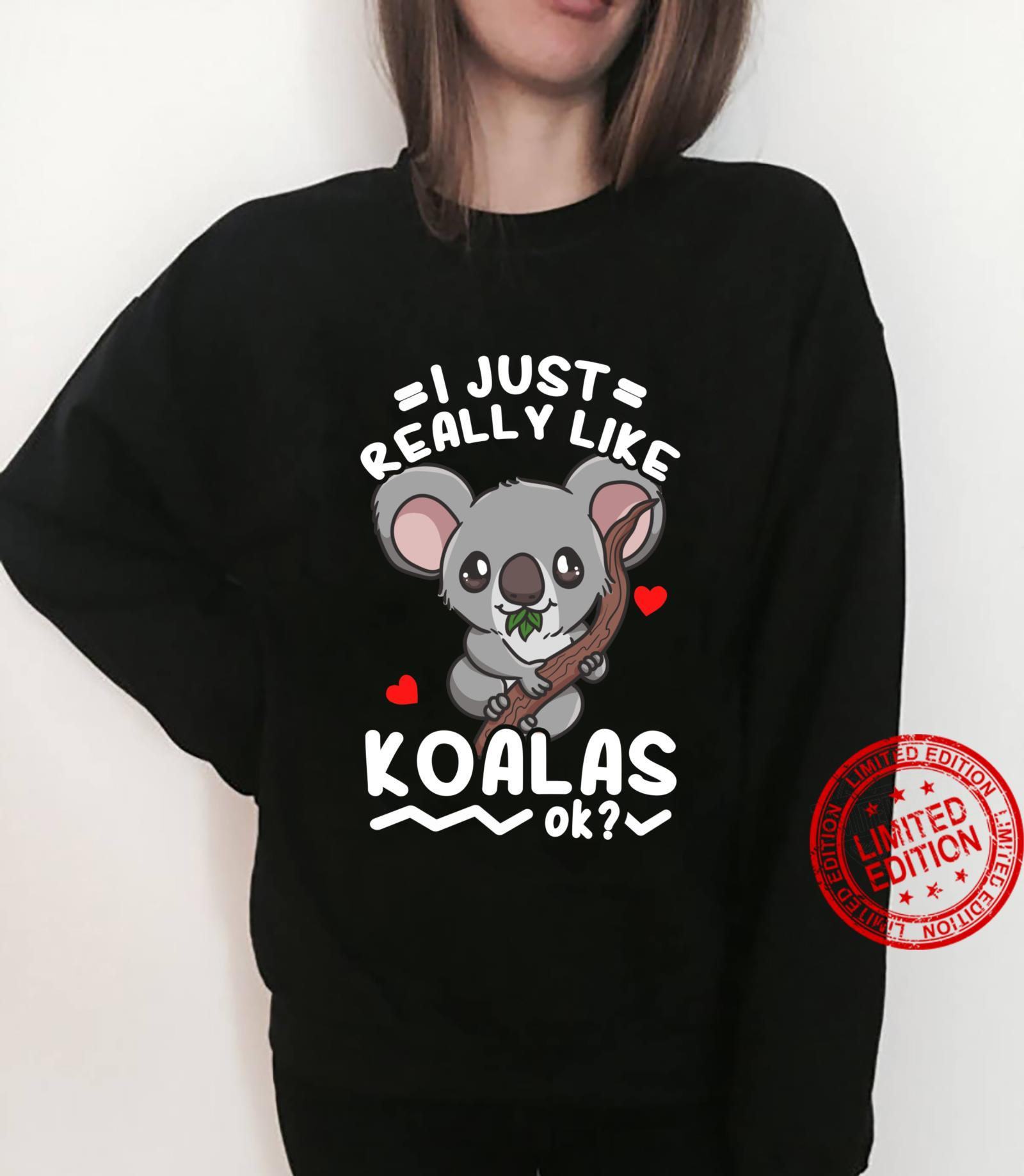 Koalas Koala Bear Shirt sweater