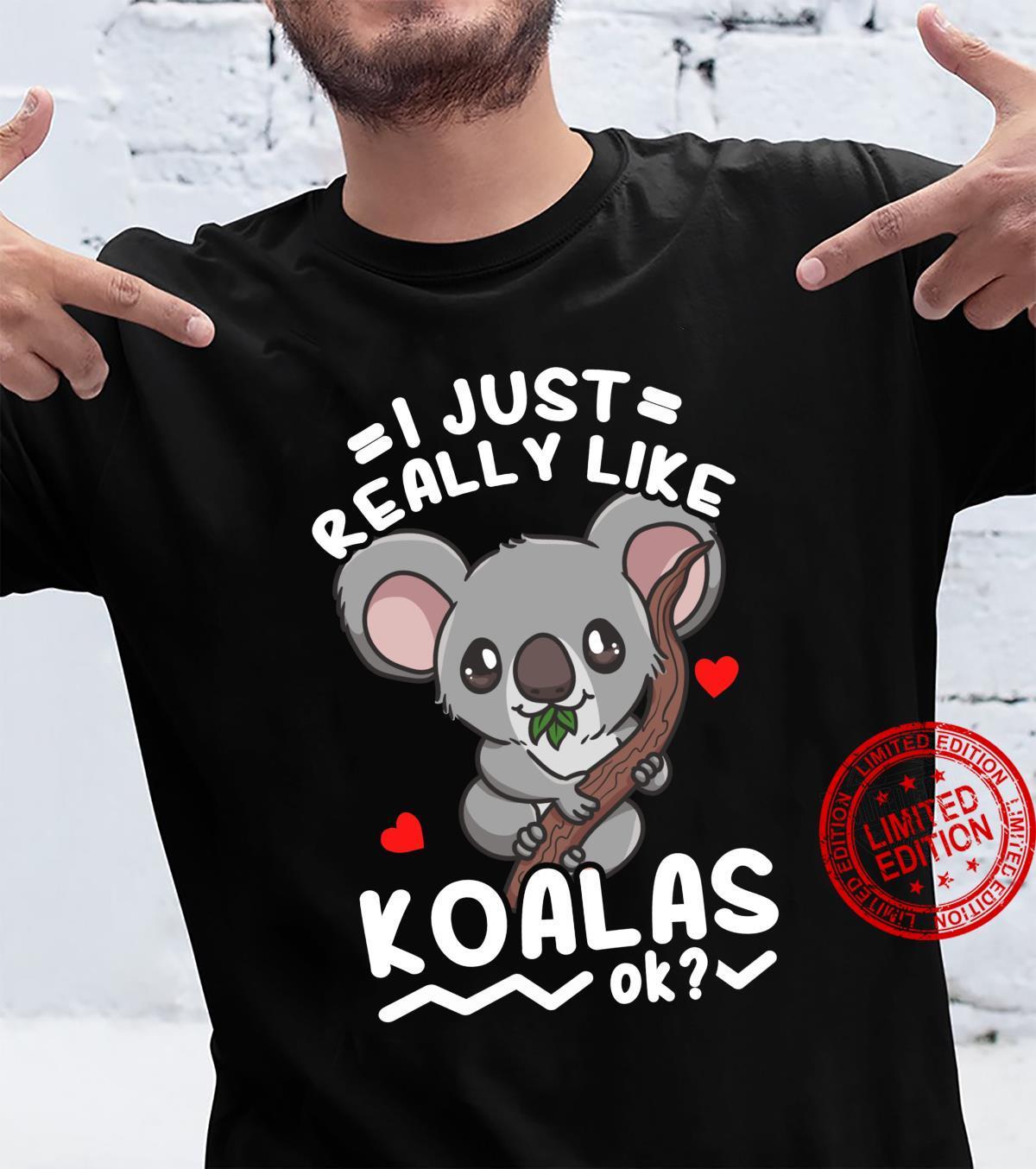 Koalas Koala Bear Shirt