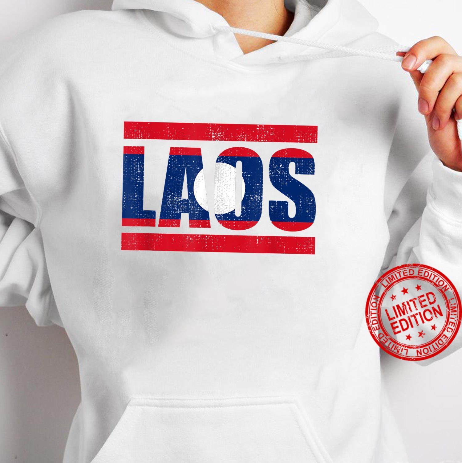 Laos Shirt hoodie