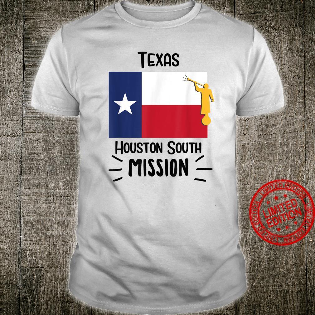 Texas Houston South Mormon LDS Missionary Geschenk Shirt