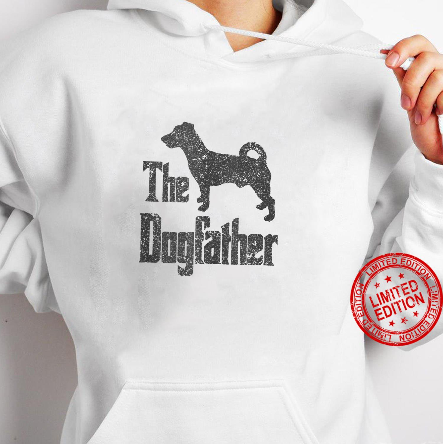 The Dogfather funny dog, Jack Russell Terrier Shirt hoodie
