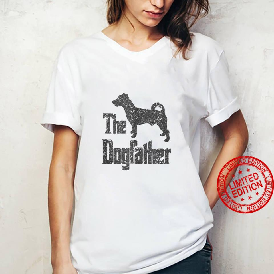 The Dogfather funny dog, Jack Russell Terrier Shirt ladies tee