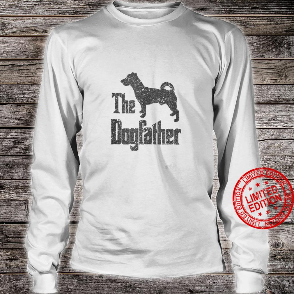 The Dogfather funny dog, Jack Russell Terrier Shirt long sleeved