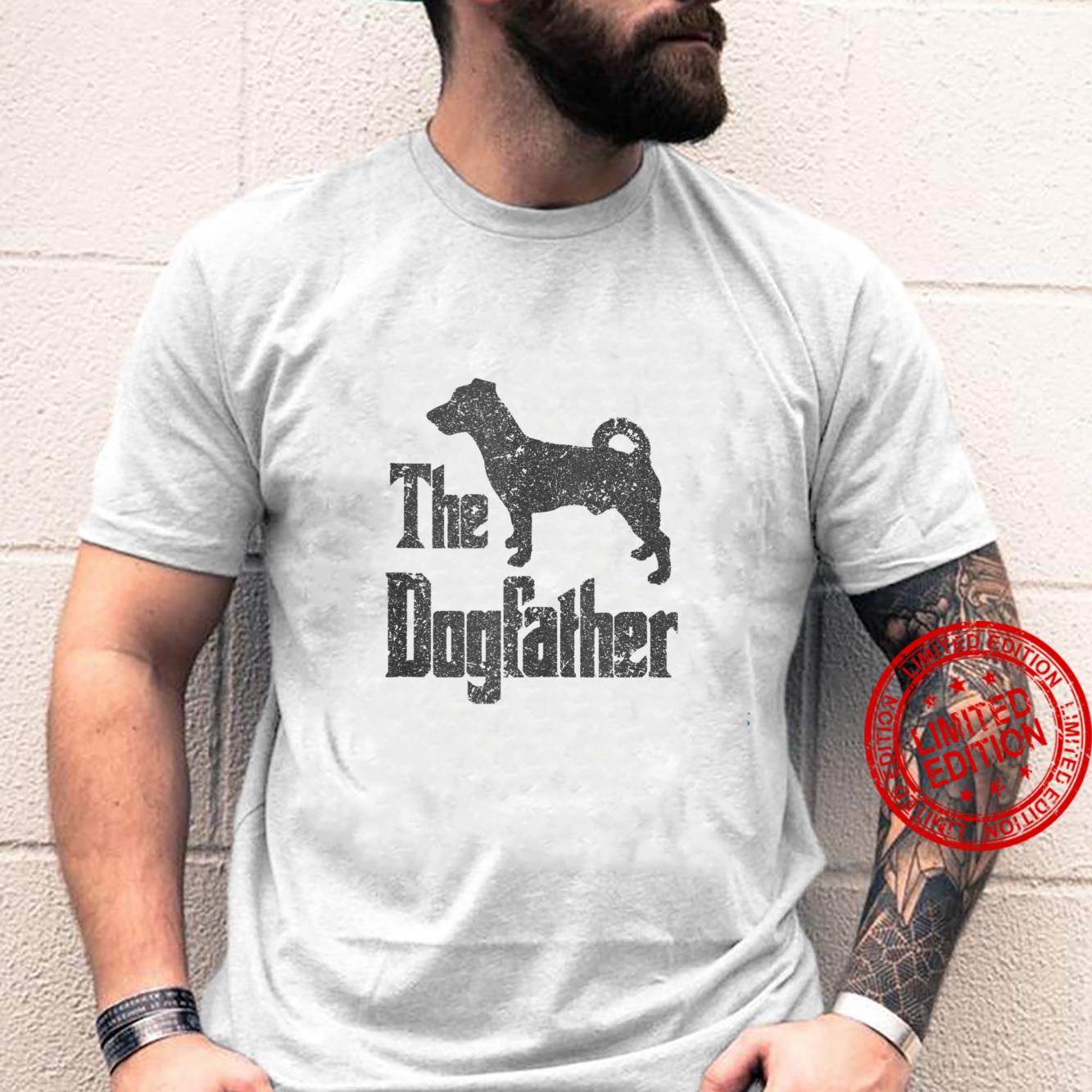 The Dogfather funny dog, Jack Russell Terrier Shirt