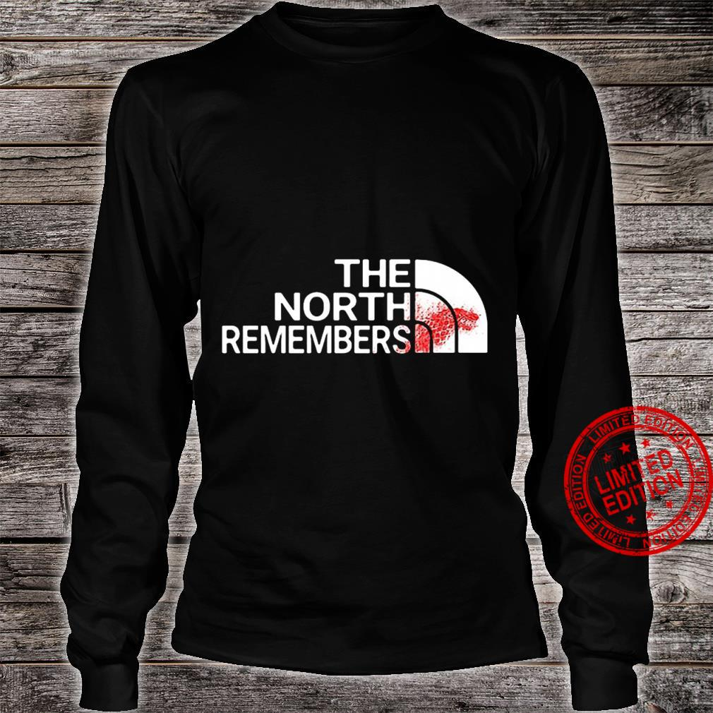 The north remembers shirt long sleeved