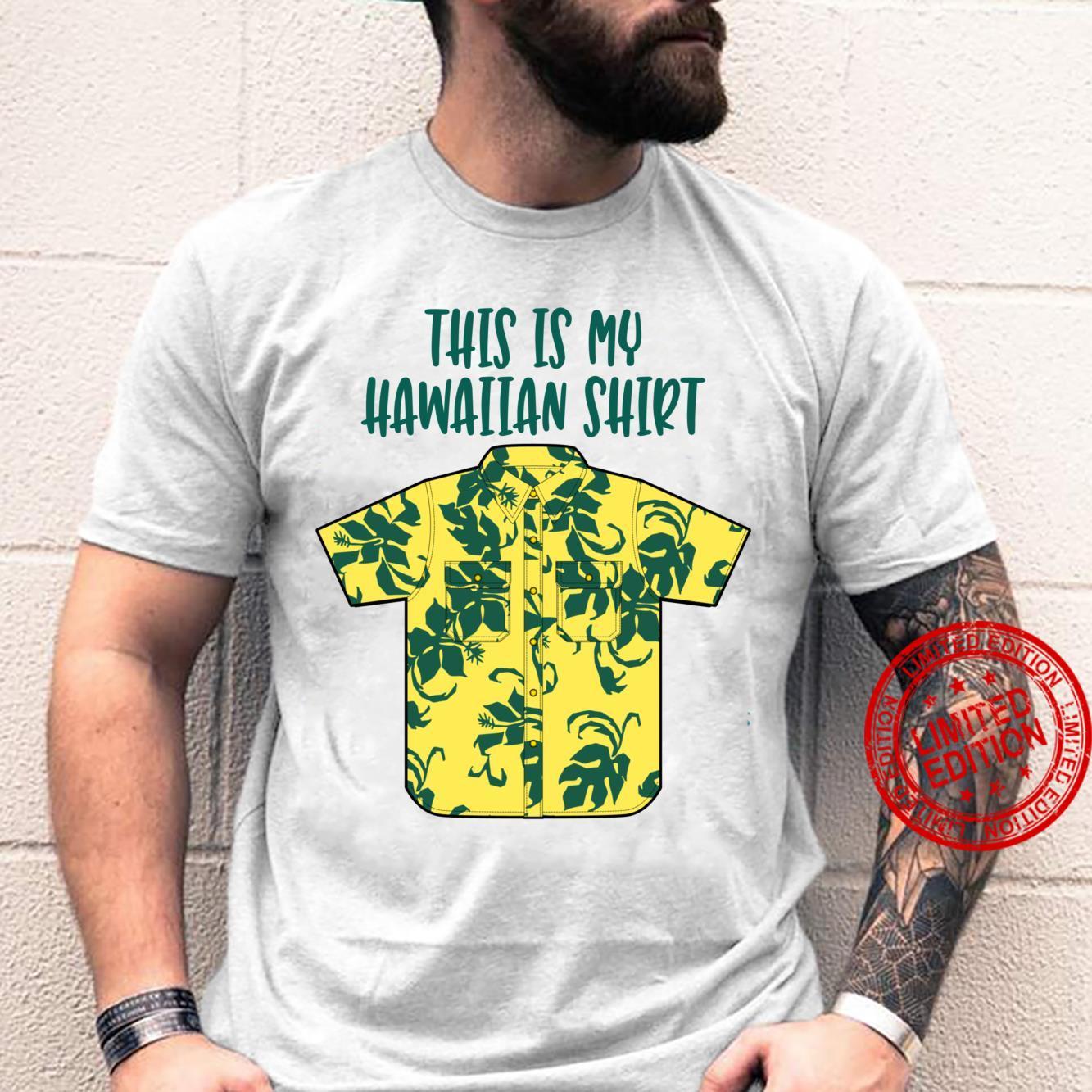 This Is My Hawaiian Shirt Aloha Hawaii Boys Dad Shirt