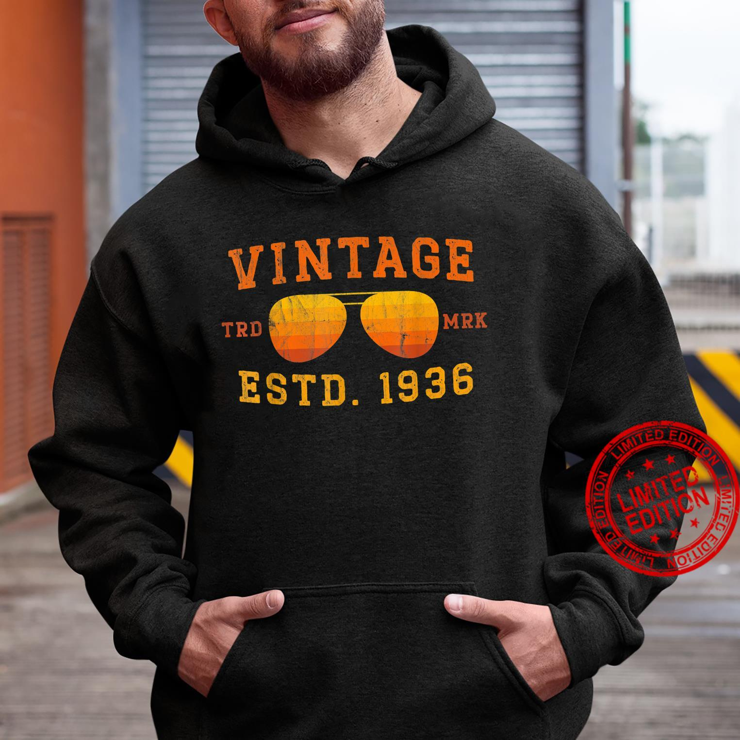 Vintage 1936 85th Birthday For 85 Year Old Shirt hoodie