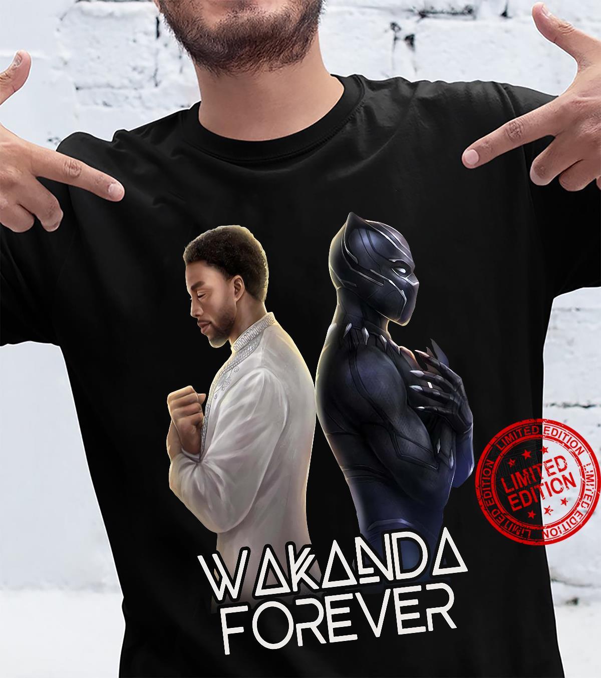 Wakanda Forever Chadwick Boseman Black Panther Shirt