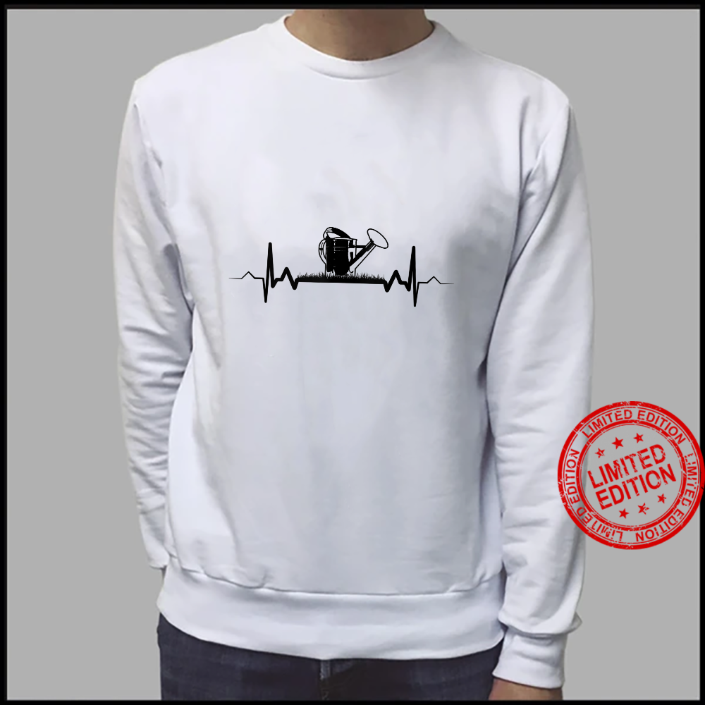 Watering Can Heartbeat Gardening Garden Gardener Shirt sweater
