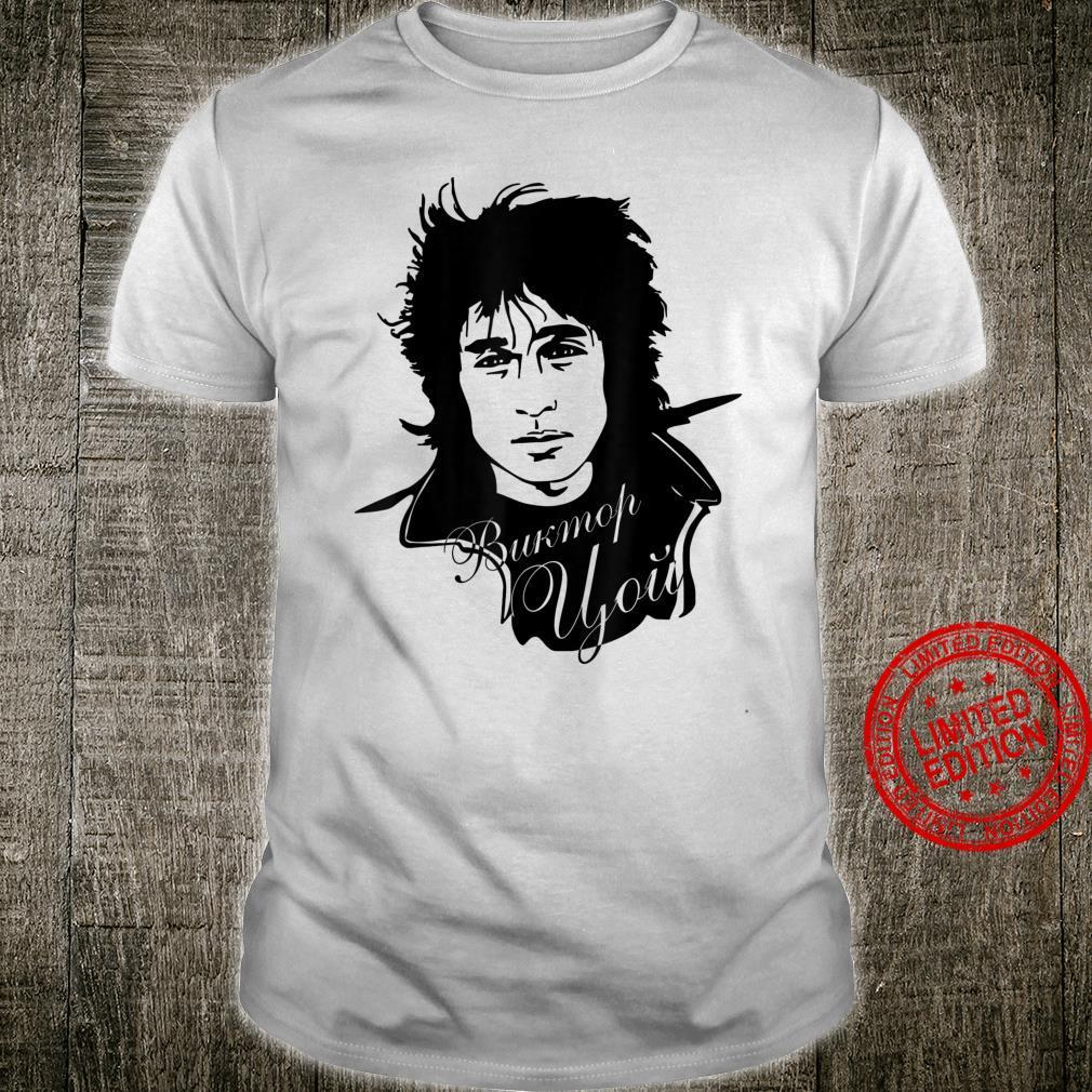 Wiktor Zoi Rock Musician Russia Cinema USSR Shirt
