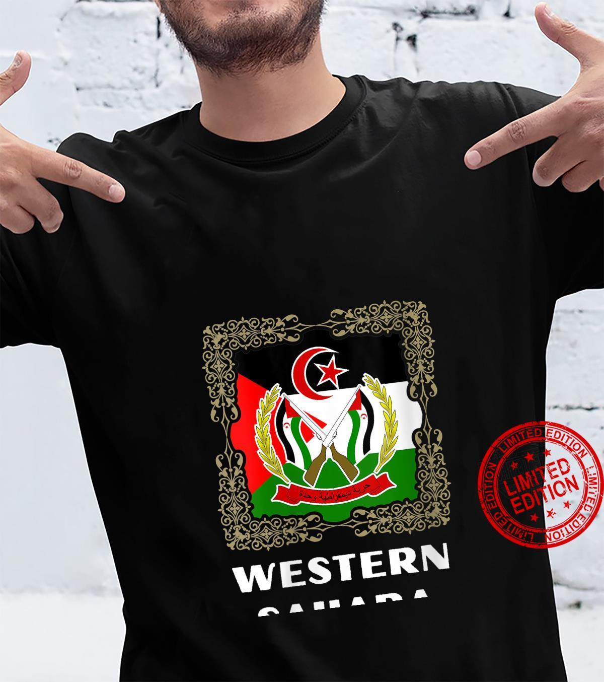 Womens Western Sahara Shirt For Western Saharan,, Shirt