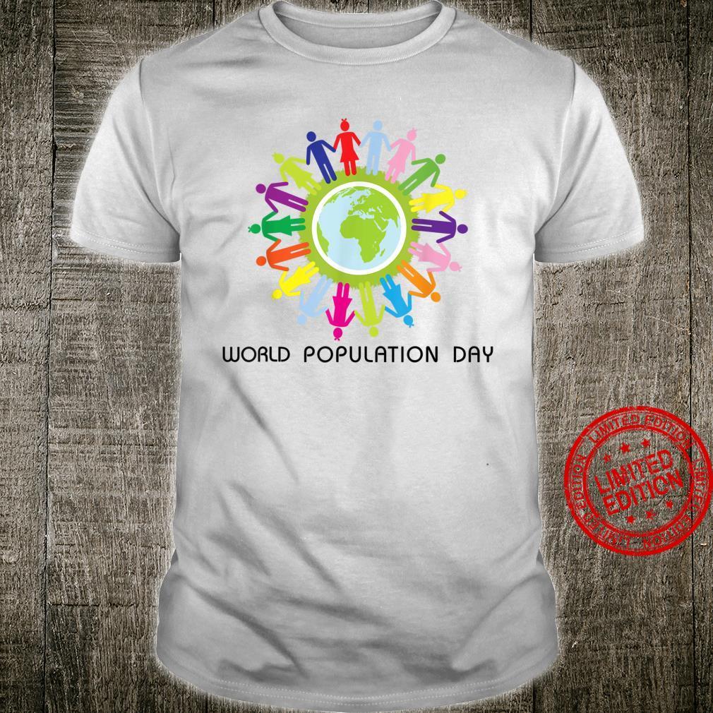 World Population Day Shirt