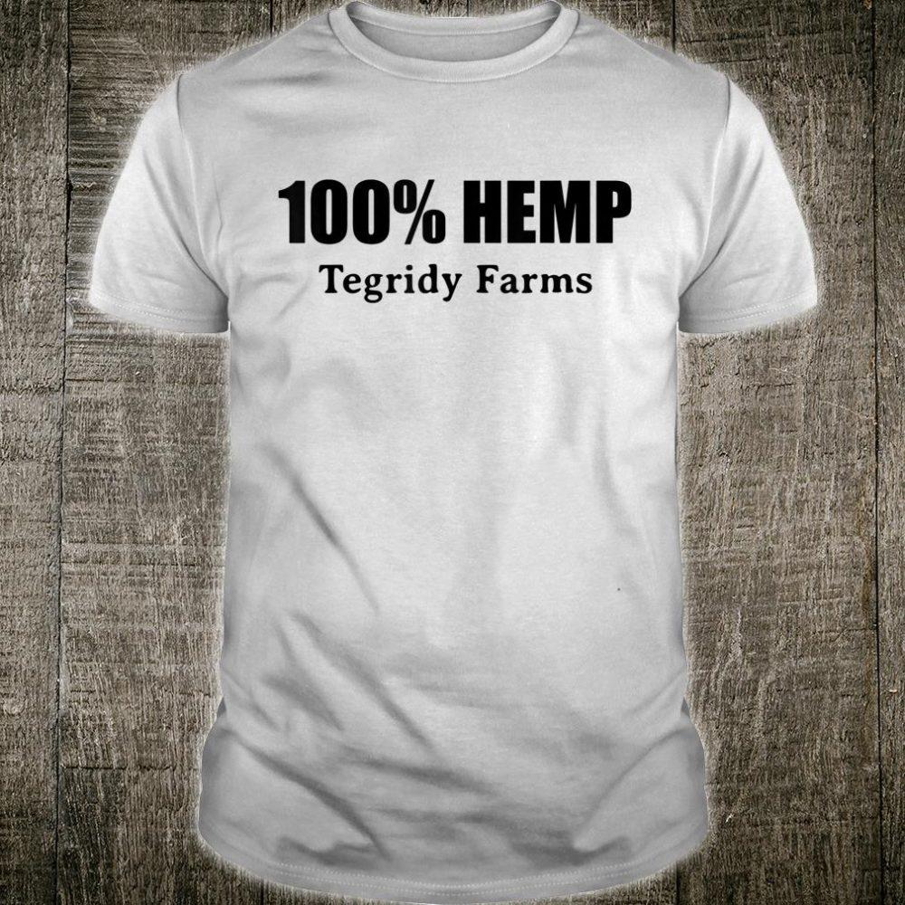 100% Hemp Tegridy Farms Shirt