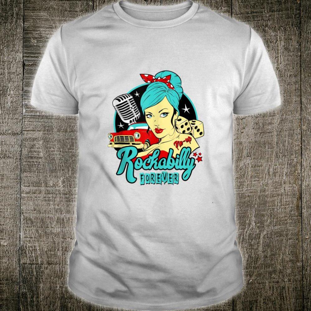 50s Rockabilly Clothing 1950s Sock Hop Swing Greaser Rocker Shirt
