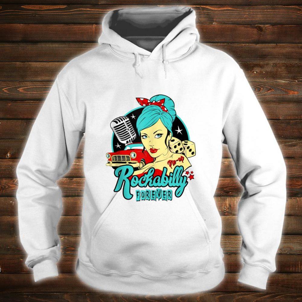 50s Rockabilly Clothing 1950s Sock Hop Swing Greaser Rocker Shirt hoodie