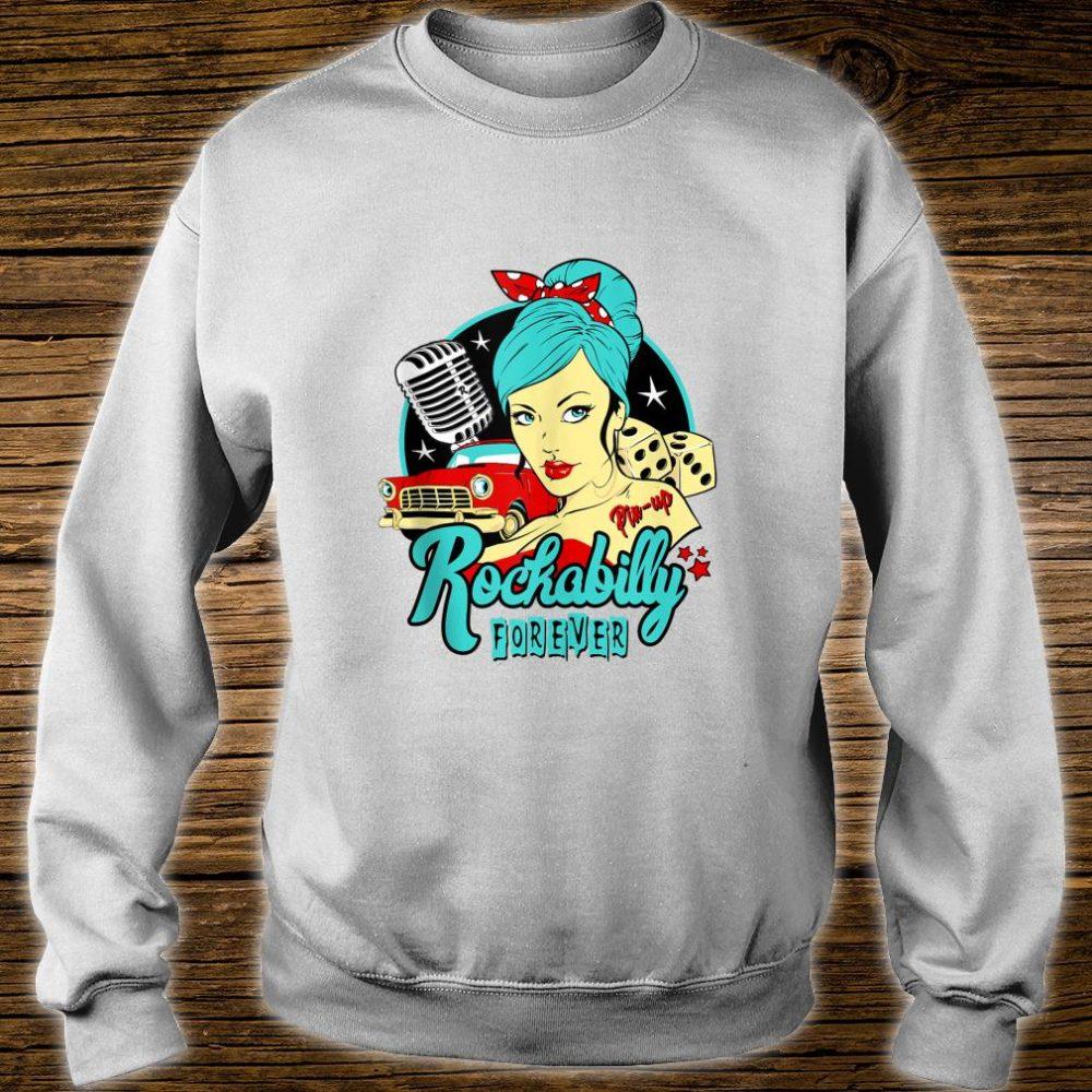 50s Rockabilly Clothing 1950s Sock Hop Swing Greaser Rocker Shirt sweater