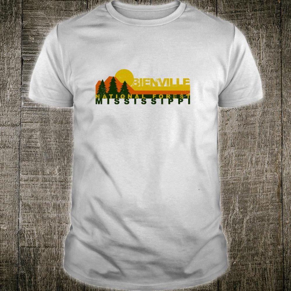 Bienville National Forest Vintage Retro Shirt