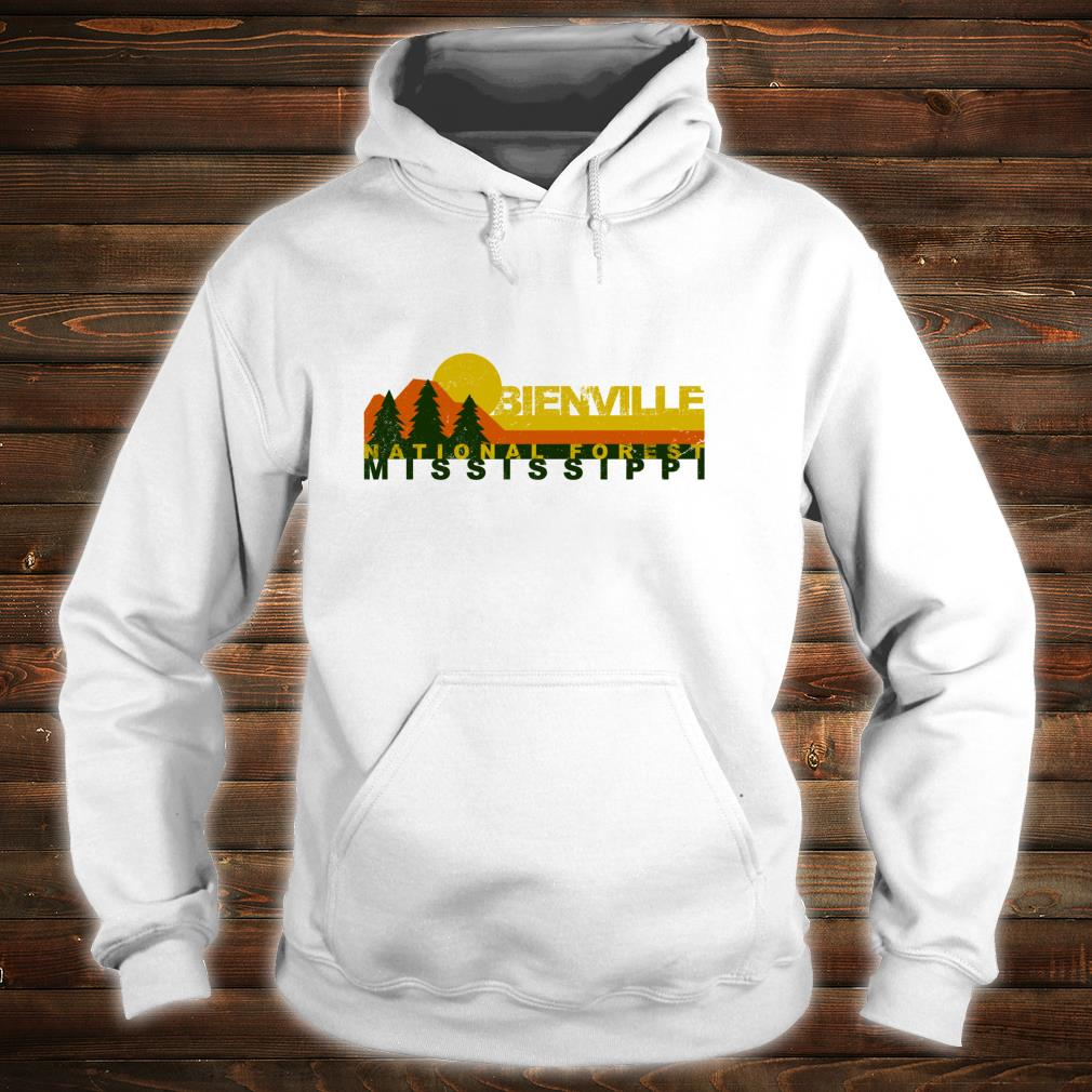 Bienville National Forest Vintage Retro Shirt hoodie