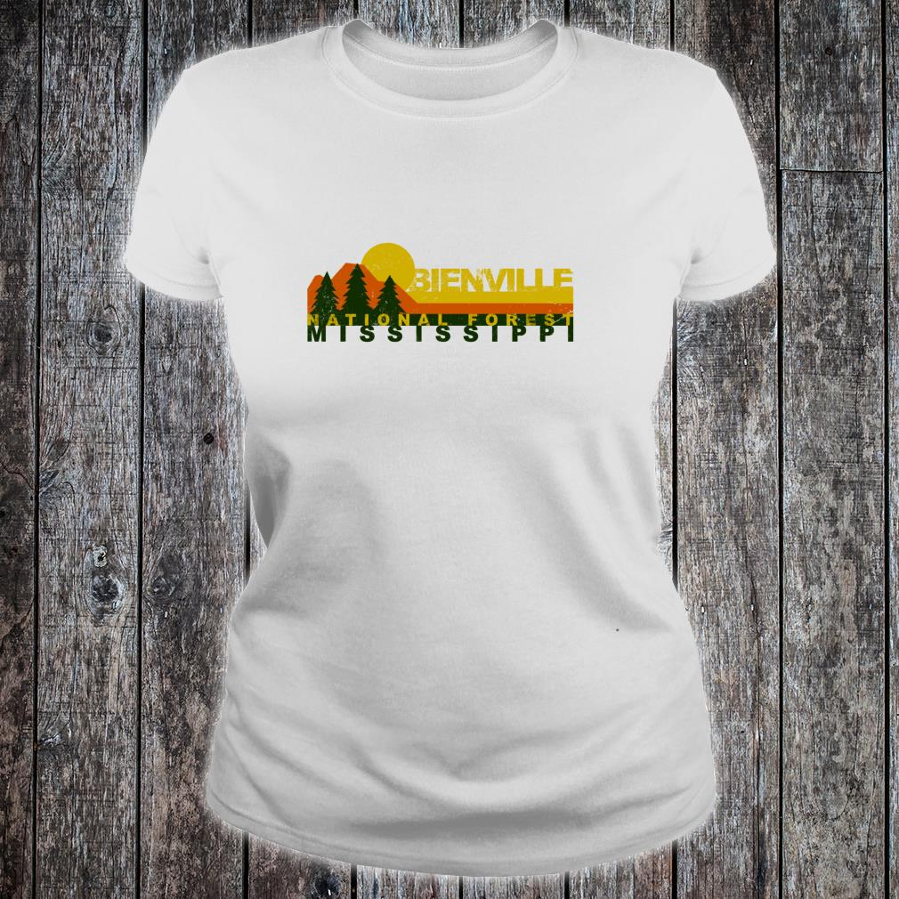 Bienville National Forest Vintage Retro Shirt ladies tee