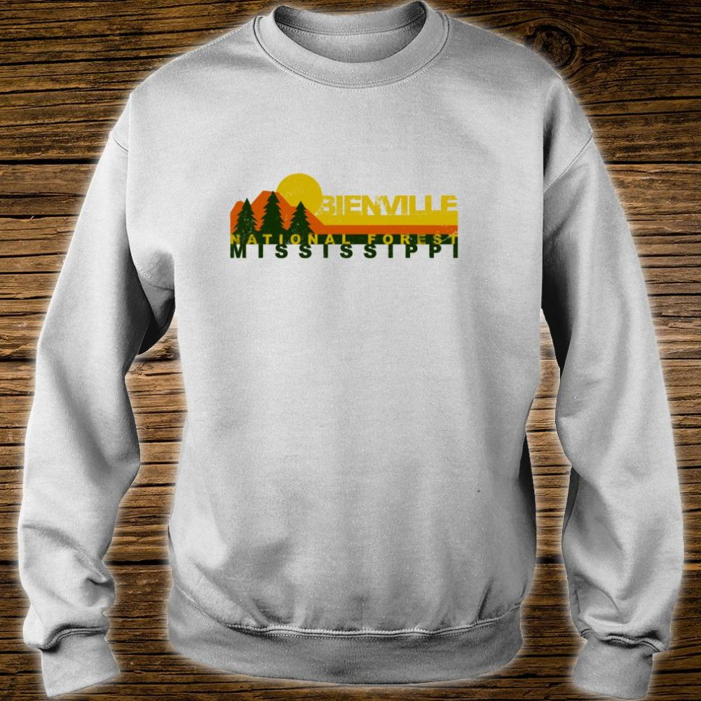 Bienville National Forest Vintage Retro Shirt sweater