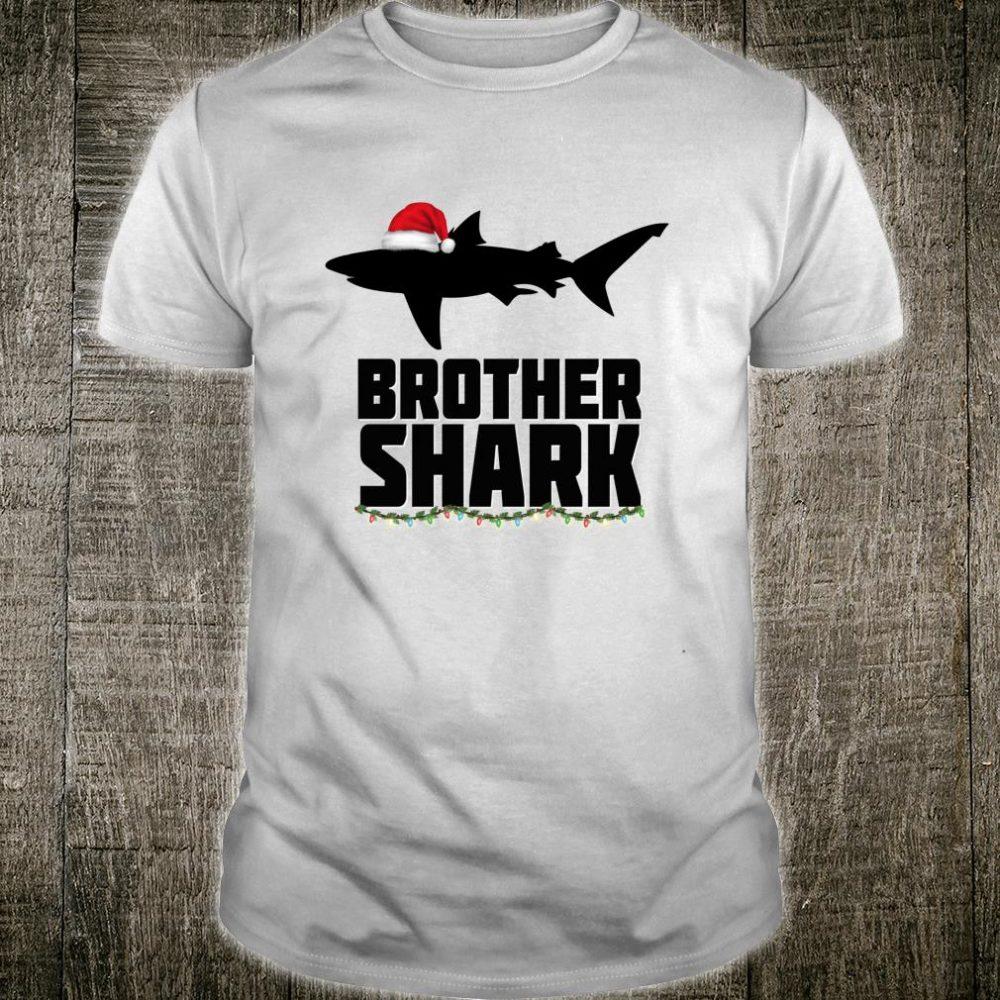 Brother Shark Christmas Matching Family Tribe Shirt