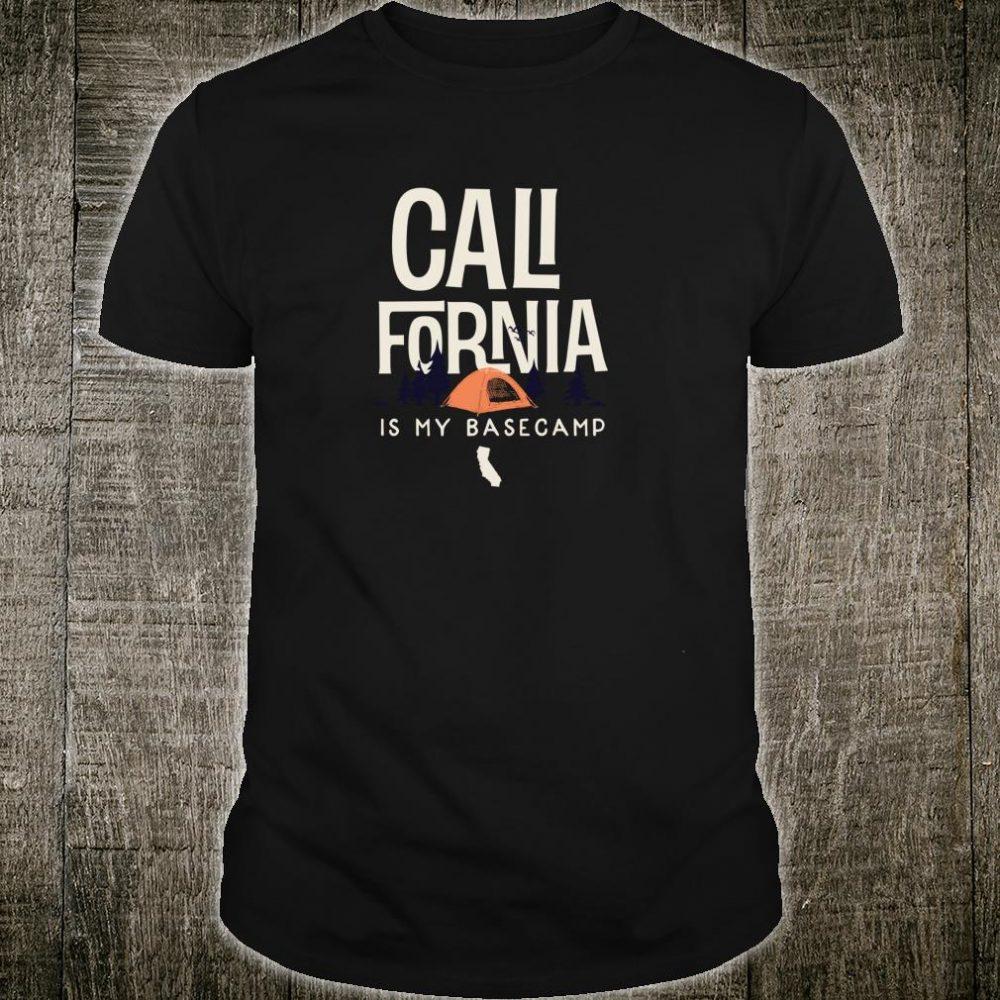 California is my Base Camp Shirt