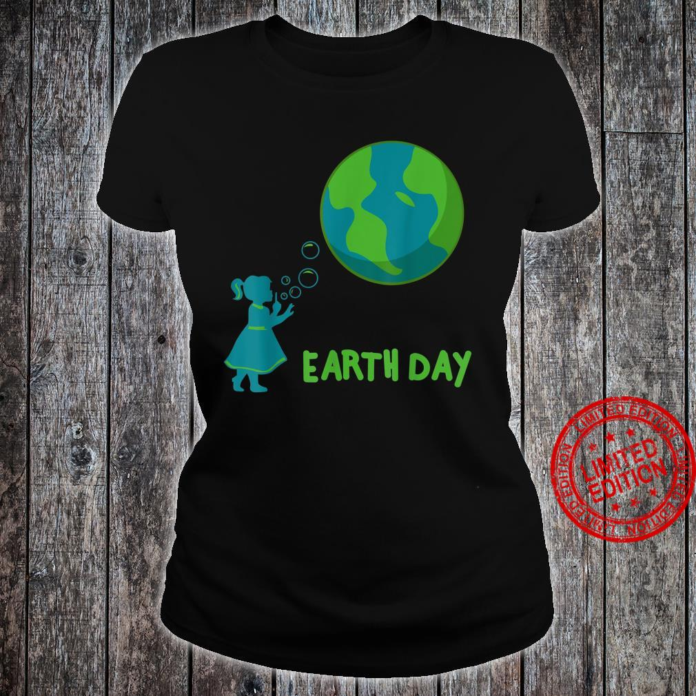 Earth Day Cute Girls' Mother Earth Costume Shirt ladies tee