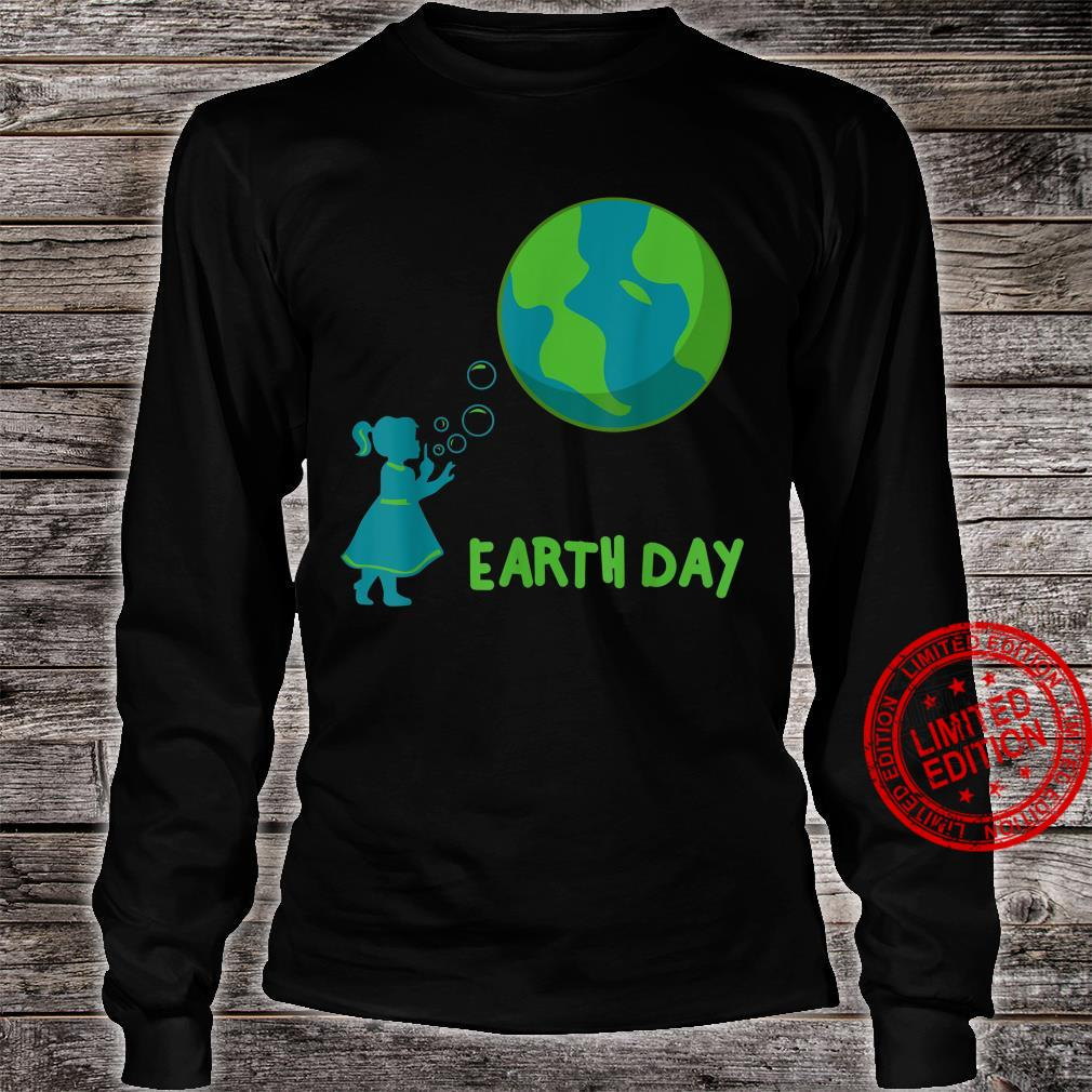 Earth Day Cute Girls' Mother Earth Costume Shirt long sleeved