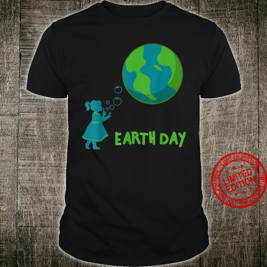 Earth Day Cute Girls' Mother Earth Costume Shirt