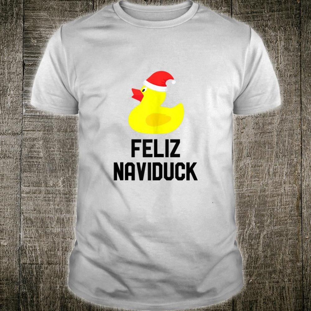 Feliz Naviduck Feliz Navidad Duck Shirt