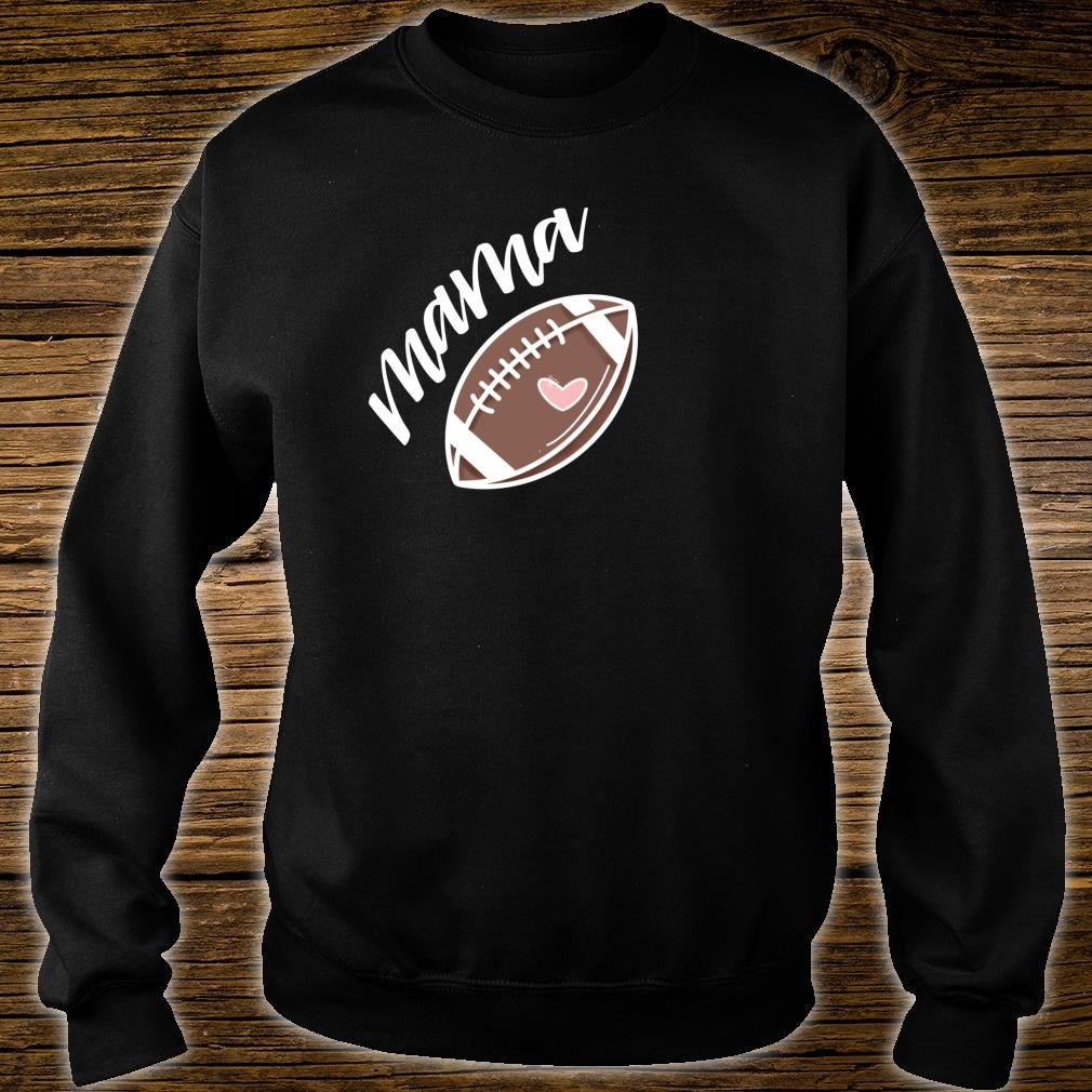 Football Mimi Hand Lettered Shirt sweater