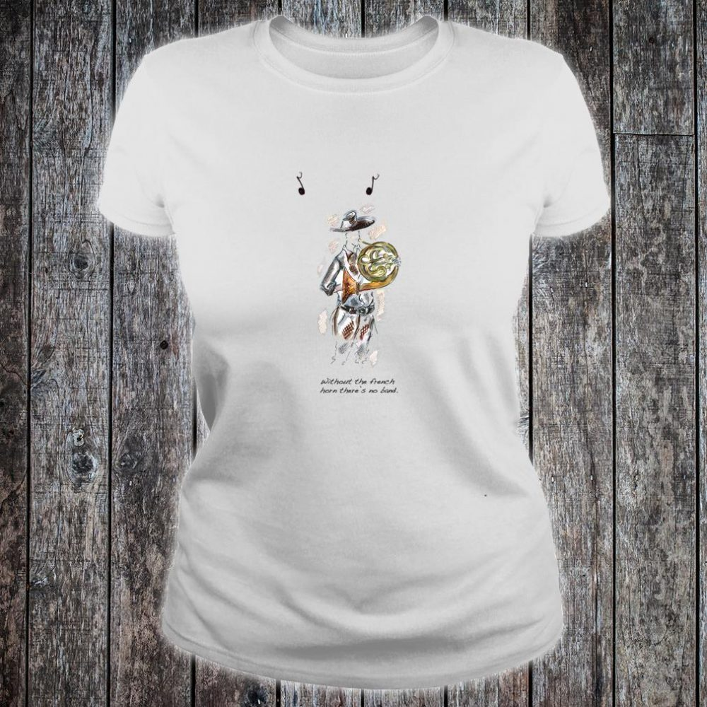 French Horn Shirt ladies tee