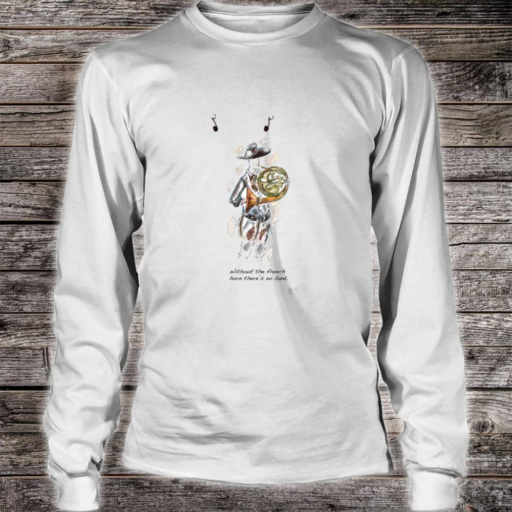 French Horn Shirt long sleeved