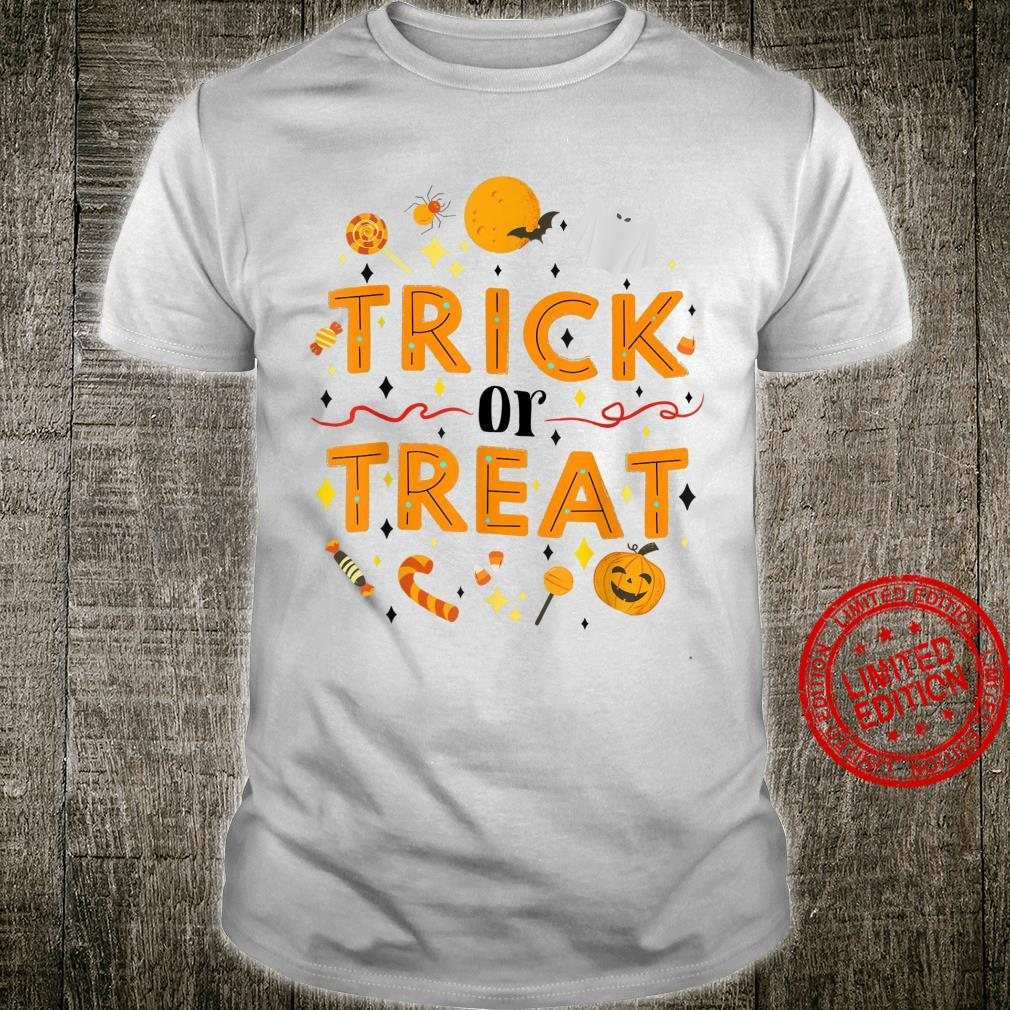 Funny Halloween Costumes Trick or Treat Shirt