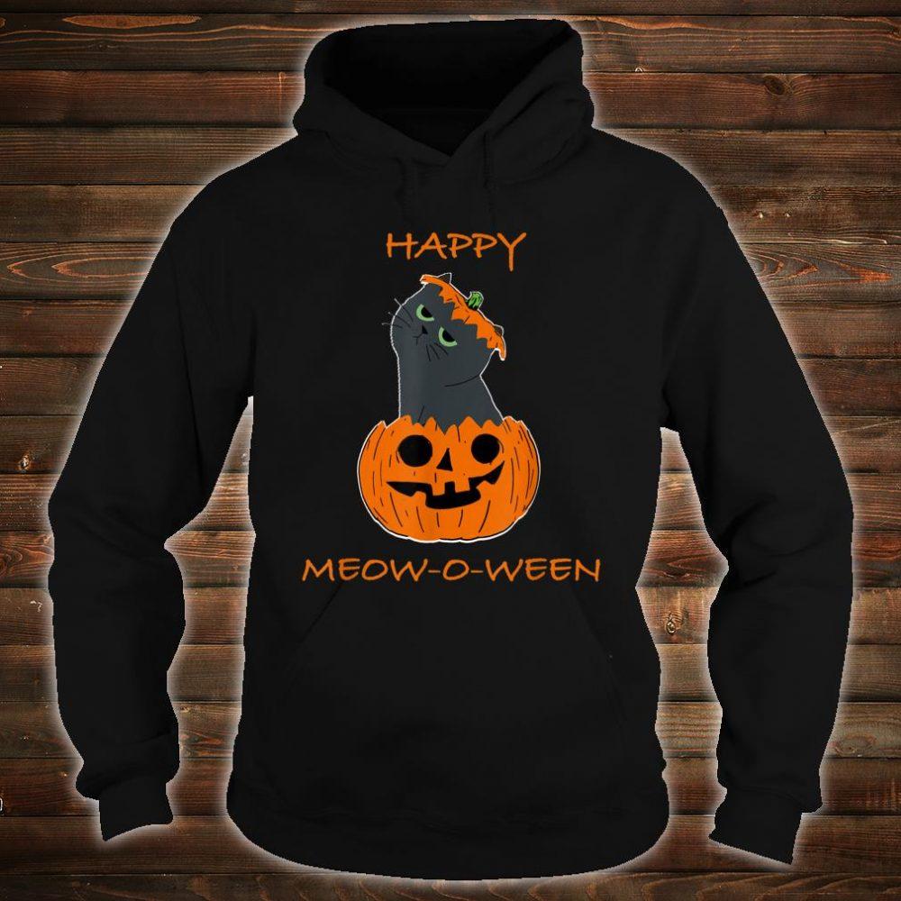 Happy Halloween Meow o ween Shirt hoodie