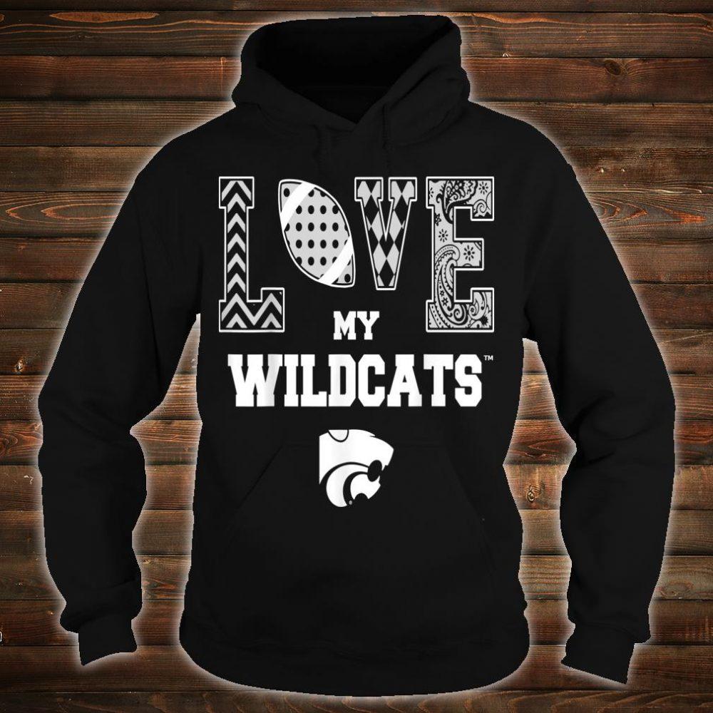 Kansas State Wildcats Love My Team Apparel Shirt hoodie