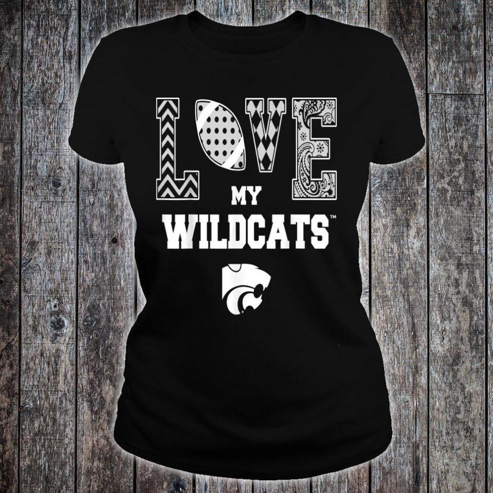 Kansas State Wildcats Love My Team Apparel Shirt ladies tee