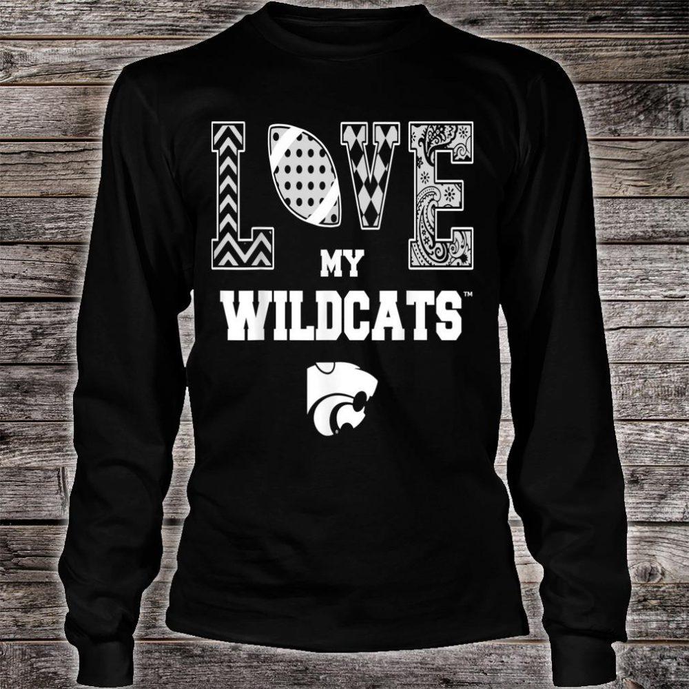 Kansas State Wildcats Love My Team Apparel Shirt long sleeved