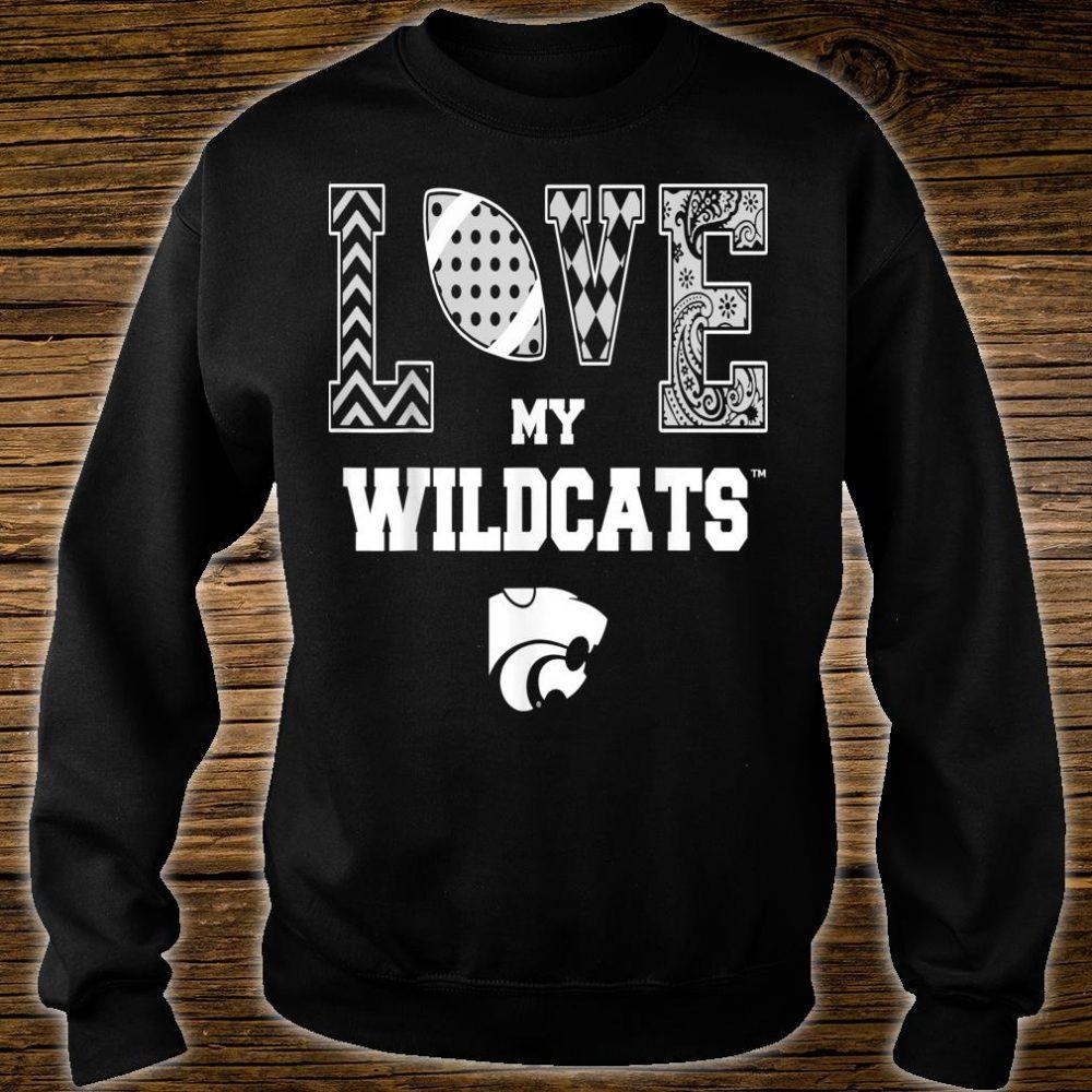 Kansas State Wildcats Love My Team Apparel Shirt sweater