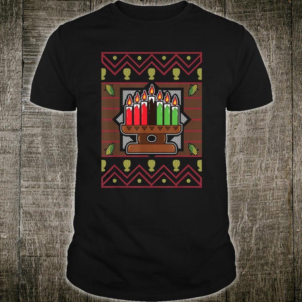 Kwanzaa Black Culture Kinara African American Tribal Africa Shirt