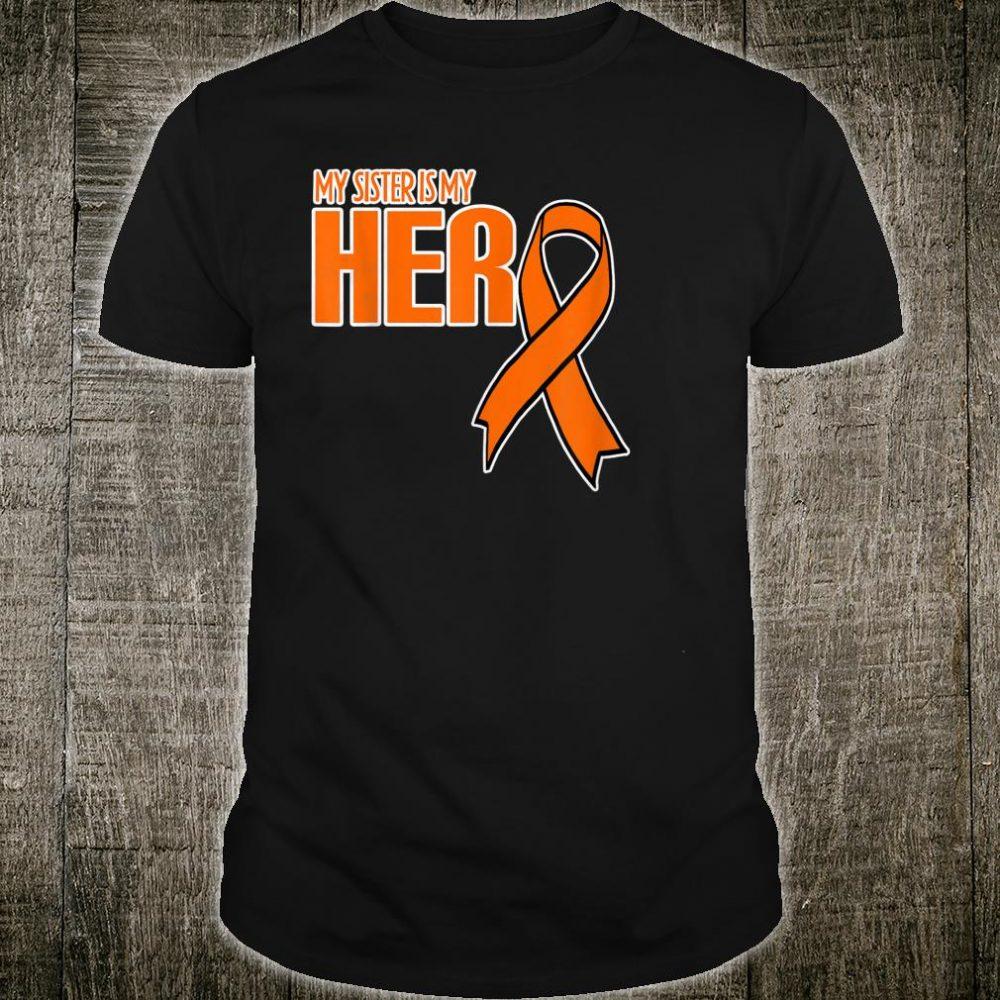 Leukemia Cancer Awareness Shirt Sister Girl Shirt